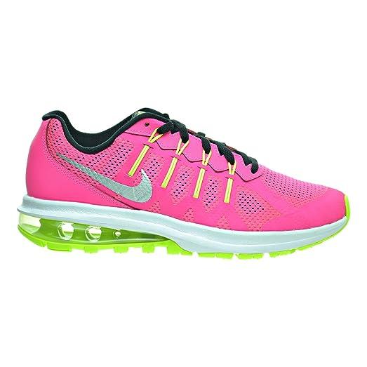 Nike Big Air Max Dinastia Gs Big Nike Kid 'S Zapatos Pink  Metalico bc4039