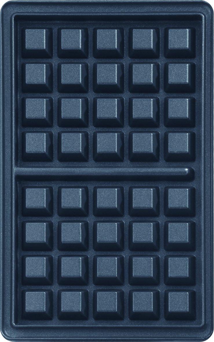 lingua italiana non garantita Cofanetto con piastra per waffle Tefal XA800412 Snack Collection 4,4 x 15,5 x 24,2 cm con libro delle ricette