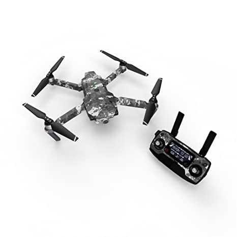 42fec2c17ea Amazon.com: Digital Urban Camo Decal for Drone DJI Mavic Pro Kit - Includes  Drone Skin, Controller Skin and 3 Battery Skins: Toys & Games