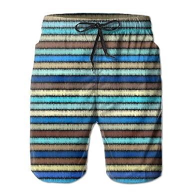 b169b702b69e YHXT Bohemian Style Mens Adult Casual Fashion Summer Beach Shorts - White -  2X Big: Amazon.co.uk: Clothing