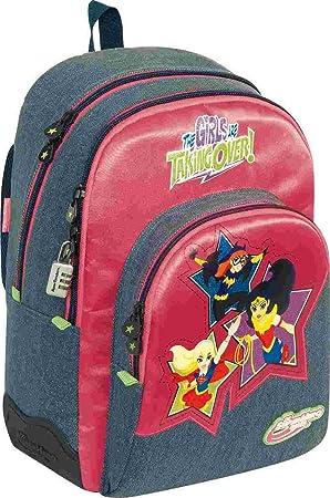 DC Super Hero Girls Stars Mochilas Infantiles, 44 cm: Amazon.es: Equipaje