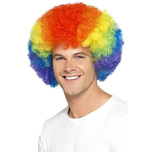 Image Unavailable. Image not available for. Color  REDSTAR Afro Curly Wig  Fancy Dress ... 611a30fba407