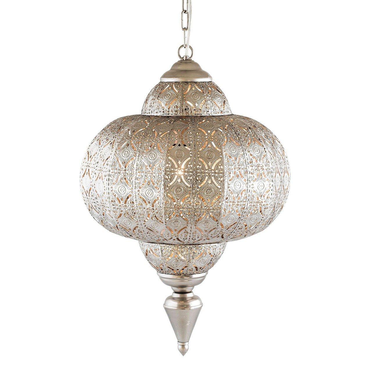 Pajoma Hängelampe Marokko, Metall, Metall, Marokko, Durchmesser 25 cm 13170 e44707
