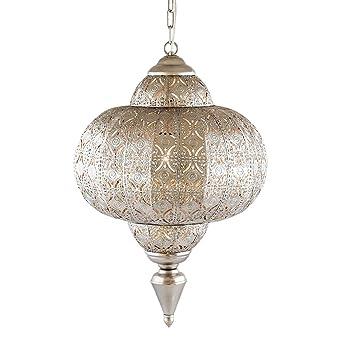 Lampe Suspendue Pajoma Maroc Metal Diametre 25 Cm 13170 Amazon Fr