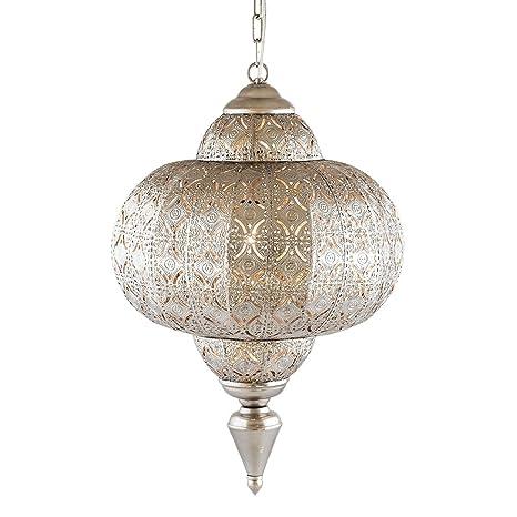 Pajoma lámpara de techo, plata