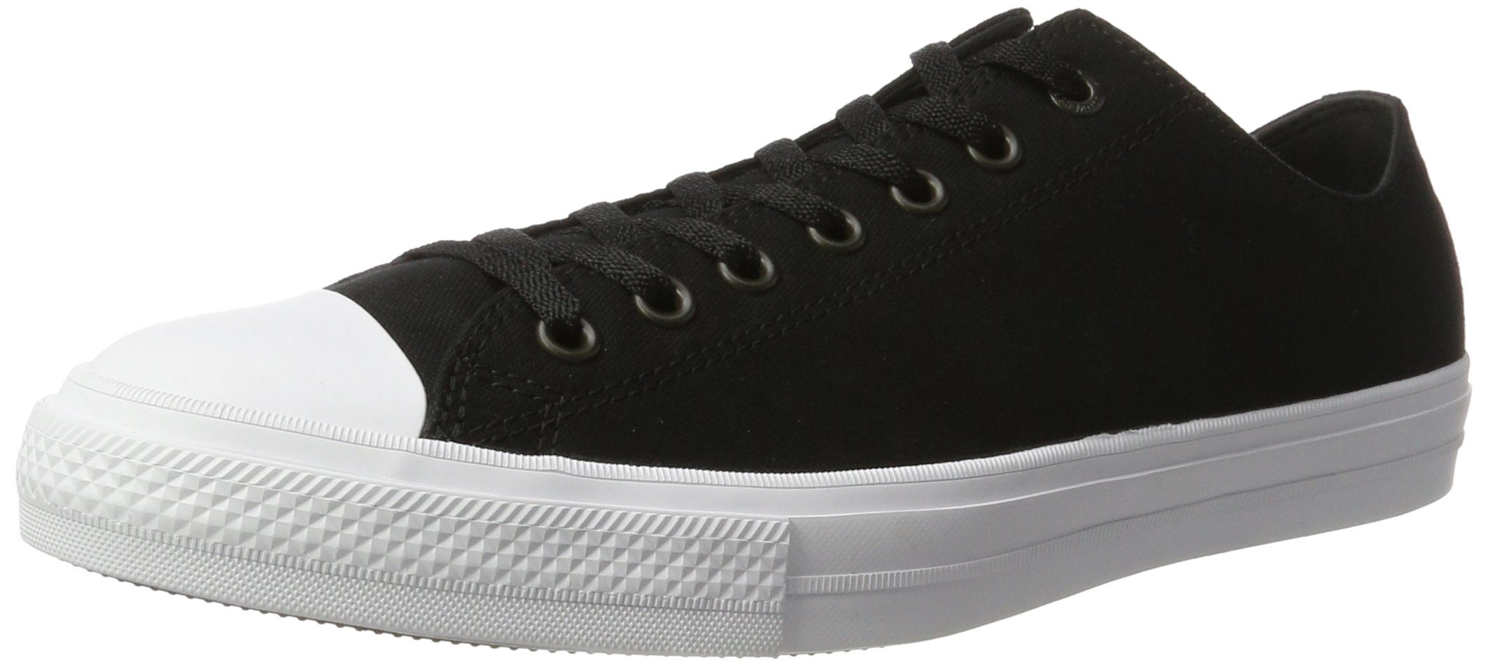 Converse Unisex Chuck Taylor II Ox Black/White/Navy Casual Shoe 13 Men US