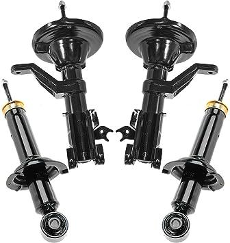 NEW Pair Set of 2 Rear Monroe Sus Strut and Coil Spring Kit For Hodna CR-V 97-01