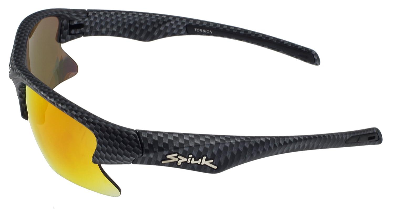 Spiuk Torsion Gafas de sol, cuadro de carbono Color, Rojo ...