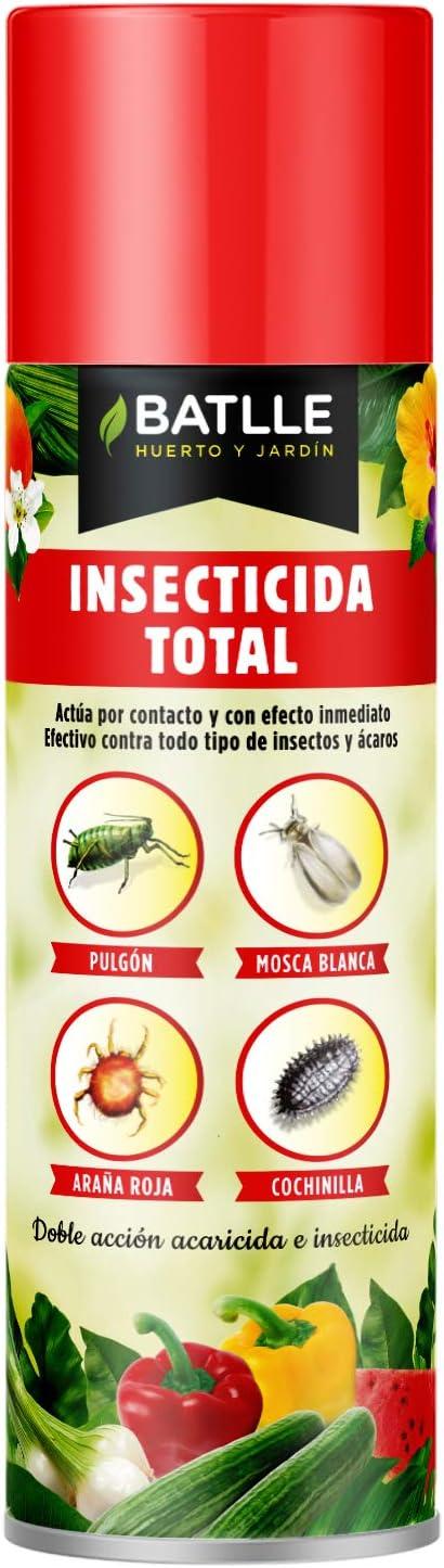Semillas Batlle Fitosanitarios - Insecticida aeorosol, Pack de 1 x 500 ml