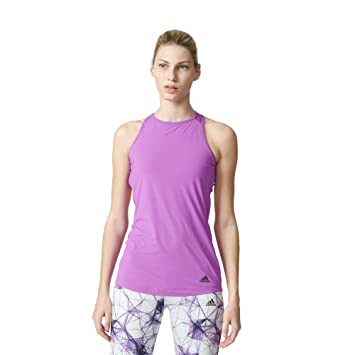 226adc02fe adidas BRA FLEX TANK - T-Shirt for Women  Amazon.co.uk  Sports ...