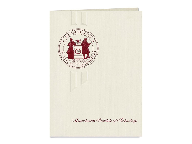 Signature Ankündigungen Massachusetts Institute of Technology Graduation Ankündigungen, eleganten Stil, Elite Pack 20 mit Massachusetts Institute of Technology Dichtung Folie B0793FC4LQ | Ruf zuerst