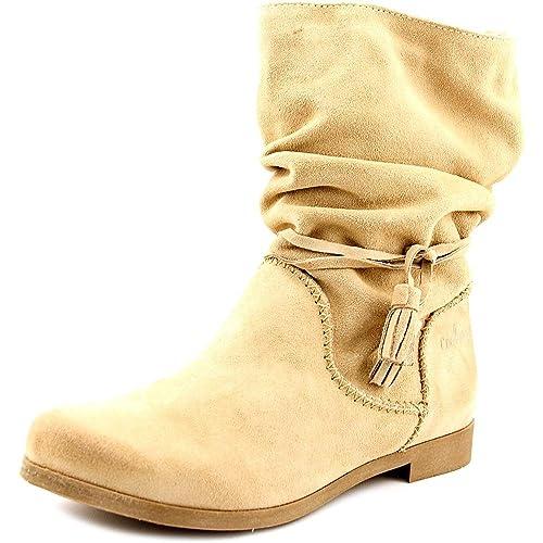 Coolway Noreen - Botas de Ante para Mujer Beige Beige Taglia Scarpa Beige Size: 38: Amazon.es: Zapatos y complementos