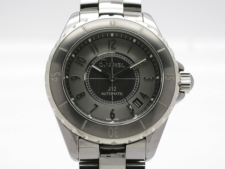 (シャネル) CHANEL 腕時計 J12 38ミリ クロマティック H2979 チタンセラミック 中古 B07DQP9JF9