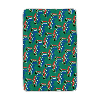 Astounding Amazon Com Loigeidq Soft Throw Blanket South Africa Flag Cjindustries Chair Design For Home Cjindustriesco