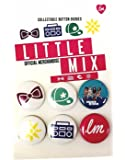 Little Mix Pack of SIX Official Collectable Button Badges Age 3+ Super Cool Girls Accessories All Different…