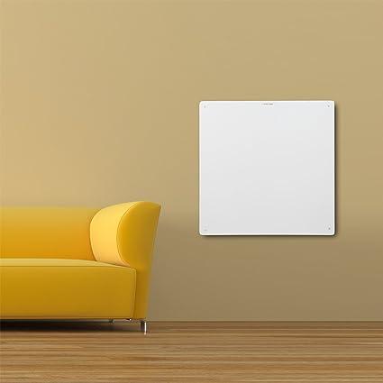 Calefacción infrarroja Panel Calefactor Eléctrico Radiador Fuente de pared mural 60x60cm