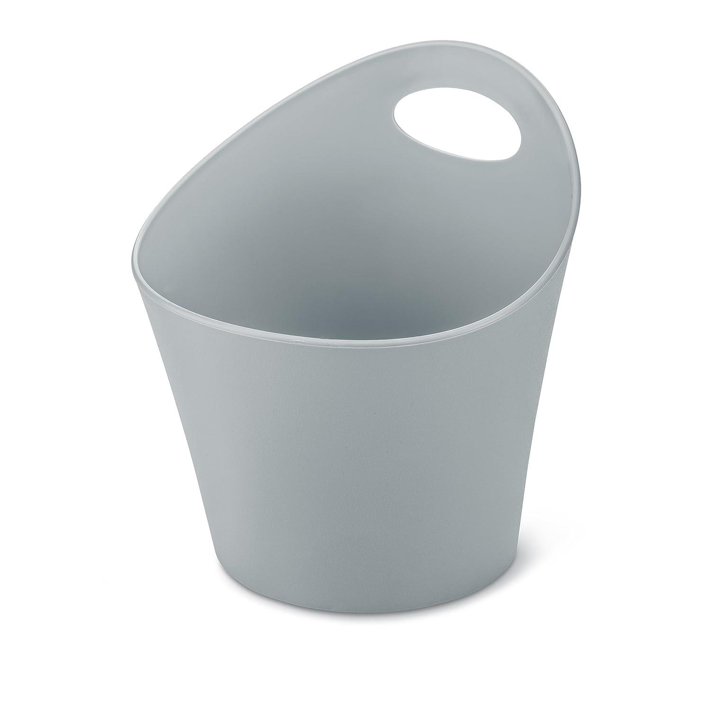 15 x 19.40 x 15.60 cm grigio Koziol 2838632/Koziol 2839555/Pottichelli M Utensilo 1,2/L in plastica