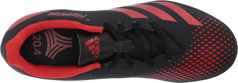 adidas Herren Predator 20.4 Turf Sneaker Core Black Active Red Core Schwarz