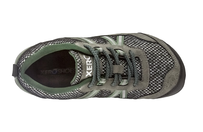 Xero Shoes TerraFlex Trail Running Hiking Shoe - Minimalist Zero-Drop Lightweight Barefoot-Inspired - Men, Forest Green, 10 D(M) US by Xero Shoes (Image #4)