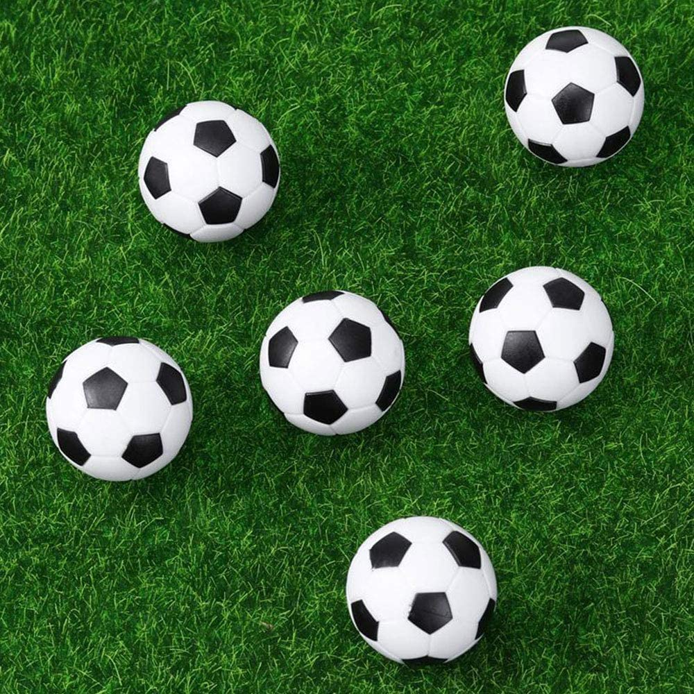 6PCS High Quality 32mm Mini Table Football Balls For Sports Activities
