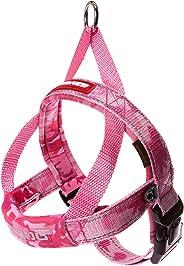 EzyDog Quick Fit Dog Harness, Pink Camo, Medium