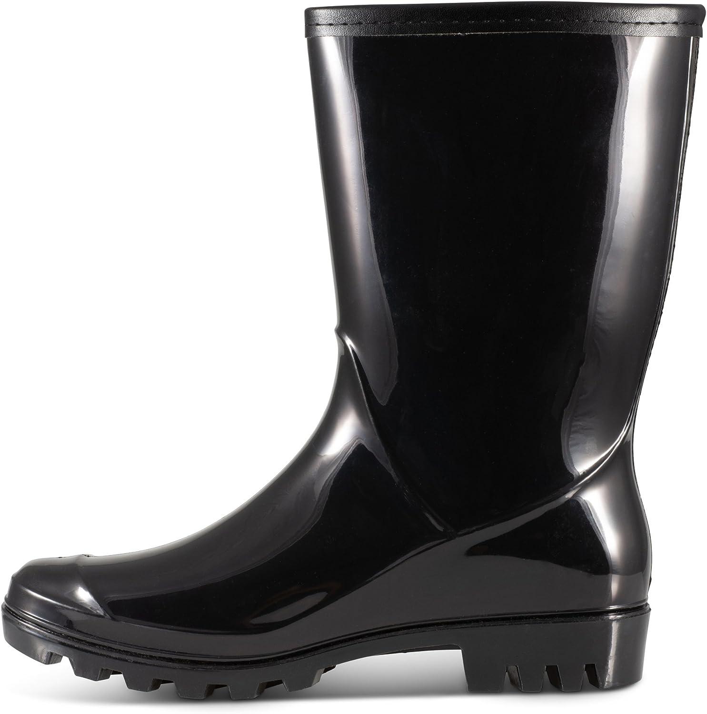 Twisted Womens Shana Mid-Calf Rain Boots