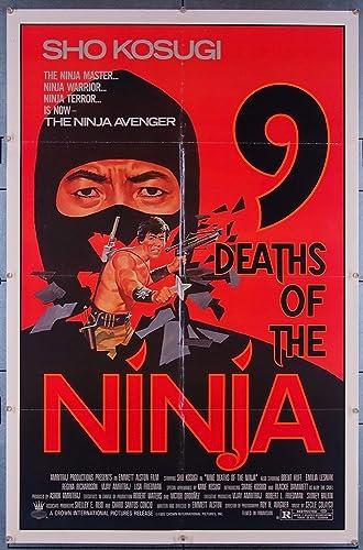 Amazon.com: 9 Deaths Of The Ninja (1985) Original Movie ...