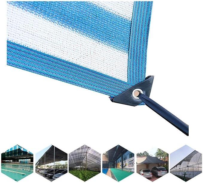 QIANGDA Toldo De Sombra Sol Protector Solar Respirable Sombra Paño UV Y Resistente for Piscina Protector Red (Size : 4mx7m): Amazon.es: Jardín
