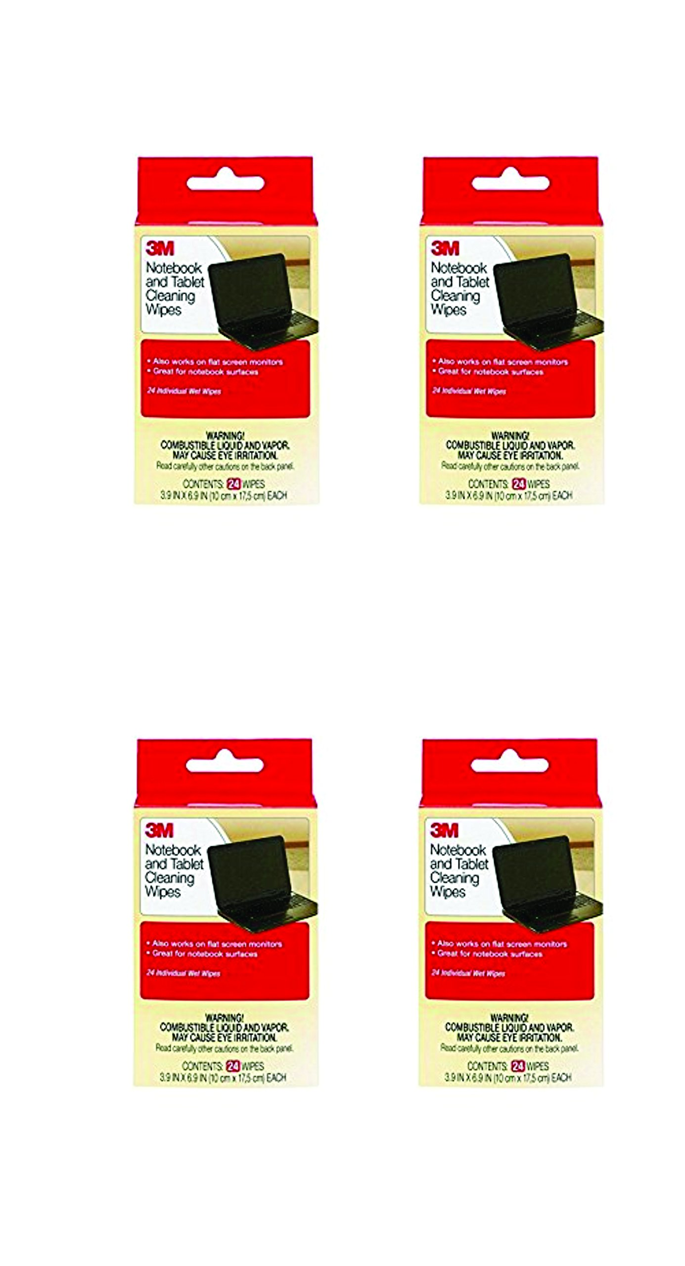 Amazon price history for 3M CL630 Notebook Screen Cleaning Wipes -3.9 x 6.9 Inches (4)