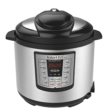 Instant Pot LUX60V3 V3 6 Qt 6-in-1 Multi-Use Programmable Pressure Cooker, Slow Cooker, Rice Cooker, Saut , Steamer, and Warmer