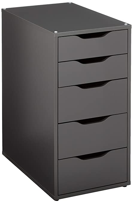37e5eec8c Amazon.com: Ikea Alex Drawer Unit, Gray: Home & Kitchen