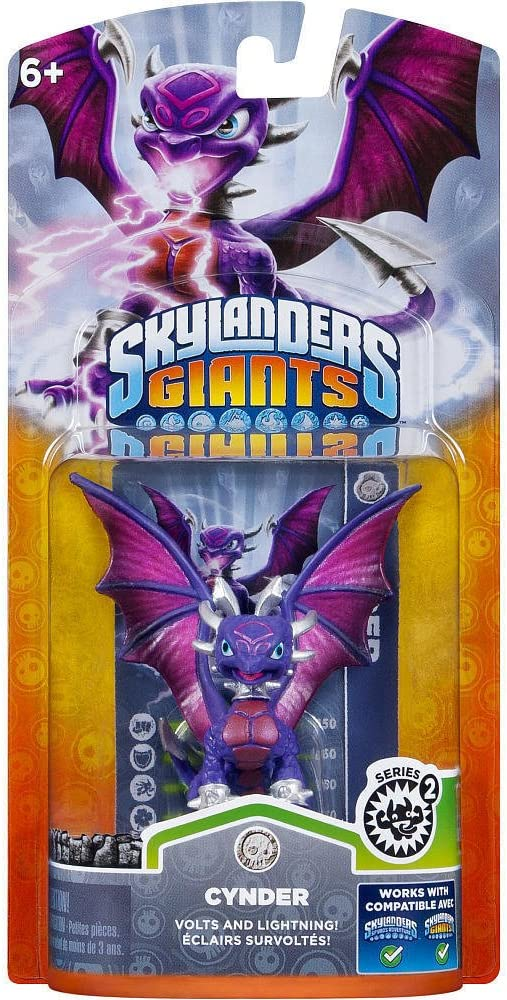 Skylanders: Giants - Figura Single Cynder: Amazon.es: Videojuegos