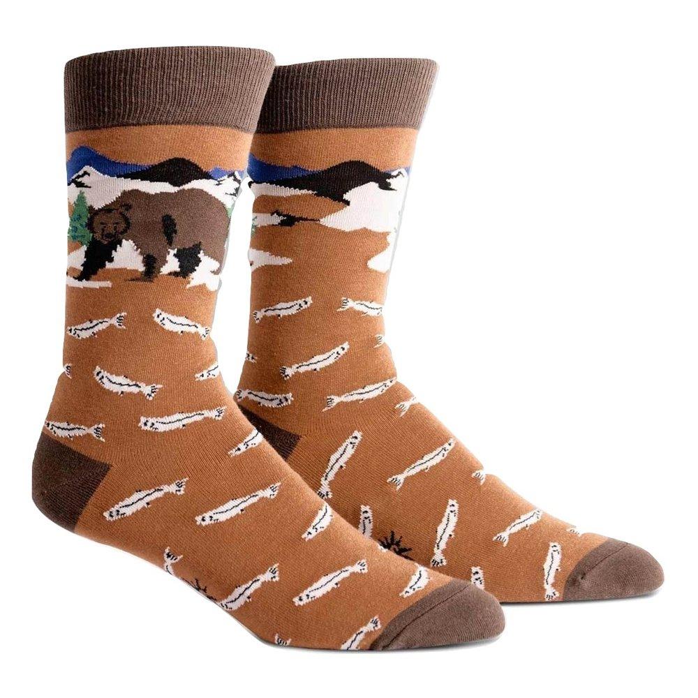 Sock It to Me Men's Crew Socks Bear Necessities