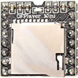 HALJIA DFPlayer Mini MP3 Player Module 24-bit DAC Output Directly Connect to Speaker, Support TF Card, for Arduino Raspberry Pi etc.