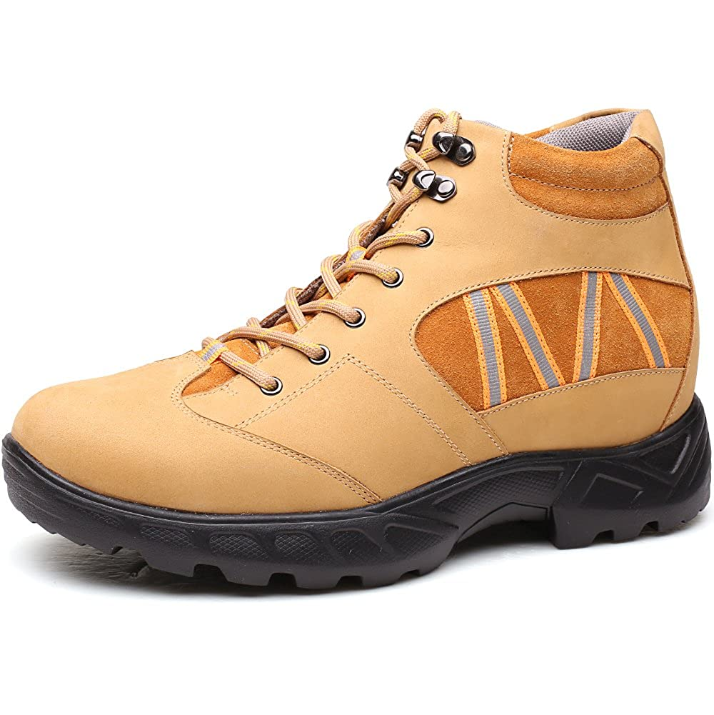 CHAMARIPA Height Increasing Schuhes  Herren Suede Hidden Heel Schuhes 2.75 inches Taller-H81C83K022D