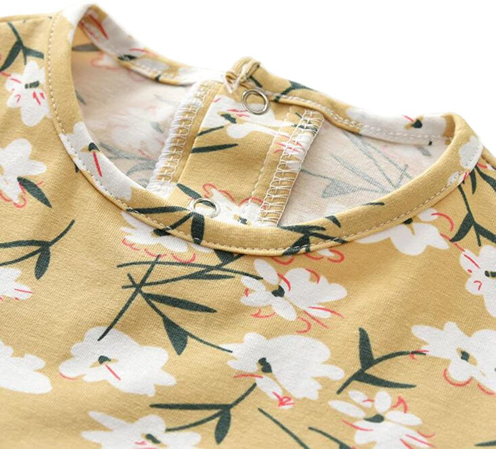 Tortor 1Bacha Baby Girls Cotton Print Dress and Long Sleeve Shrug 2pc Set