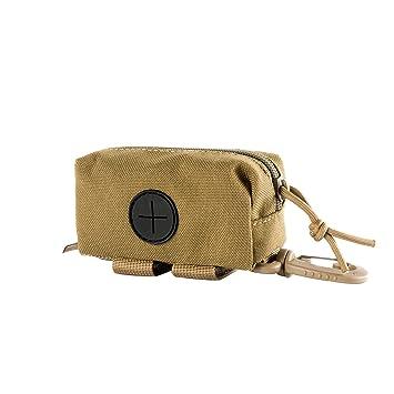 Amazon.com: OneTigris Doggy bolsa de caca con cremallera ...