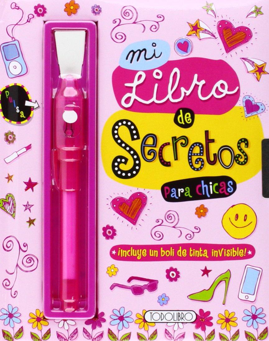 Mi Libro De Secretos con Llave +boli Tinta Invisible Top Secret: Amazon.es: Aa.Vv.: Libros