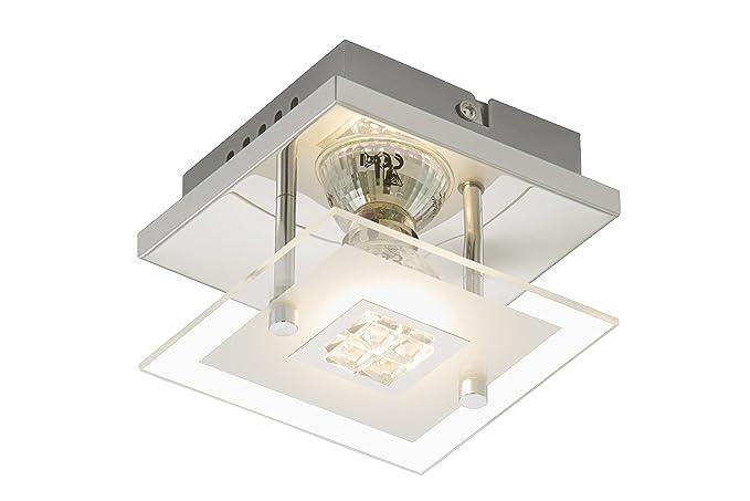 Plafoniere Rettangolari Per Esterno : Briloner leuchten 3195 018 a plafoniera led lampada da