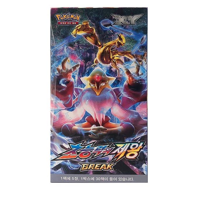 Pokemon Cartas XY Break Booster Pack Caja 30 Packs + 3pcs ...