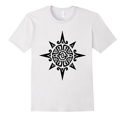 Mens Blackfoot Indian Warrior Symbol T Shirt Native American Tee