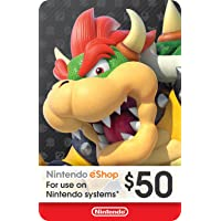 eCash - Nintendo eShop Gift Card $50 - Switch / Wii U / 3DS [Digital Code]