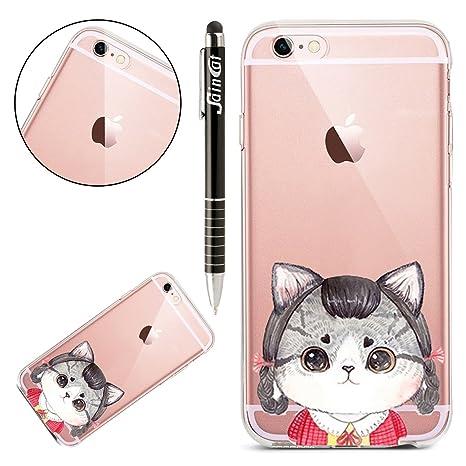 SainCat Funda iPhone 6 Plus/6S 5.5 Pulgadas, Transparente ...