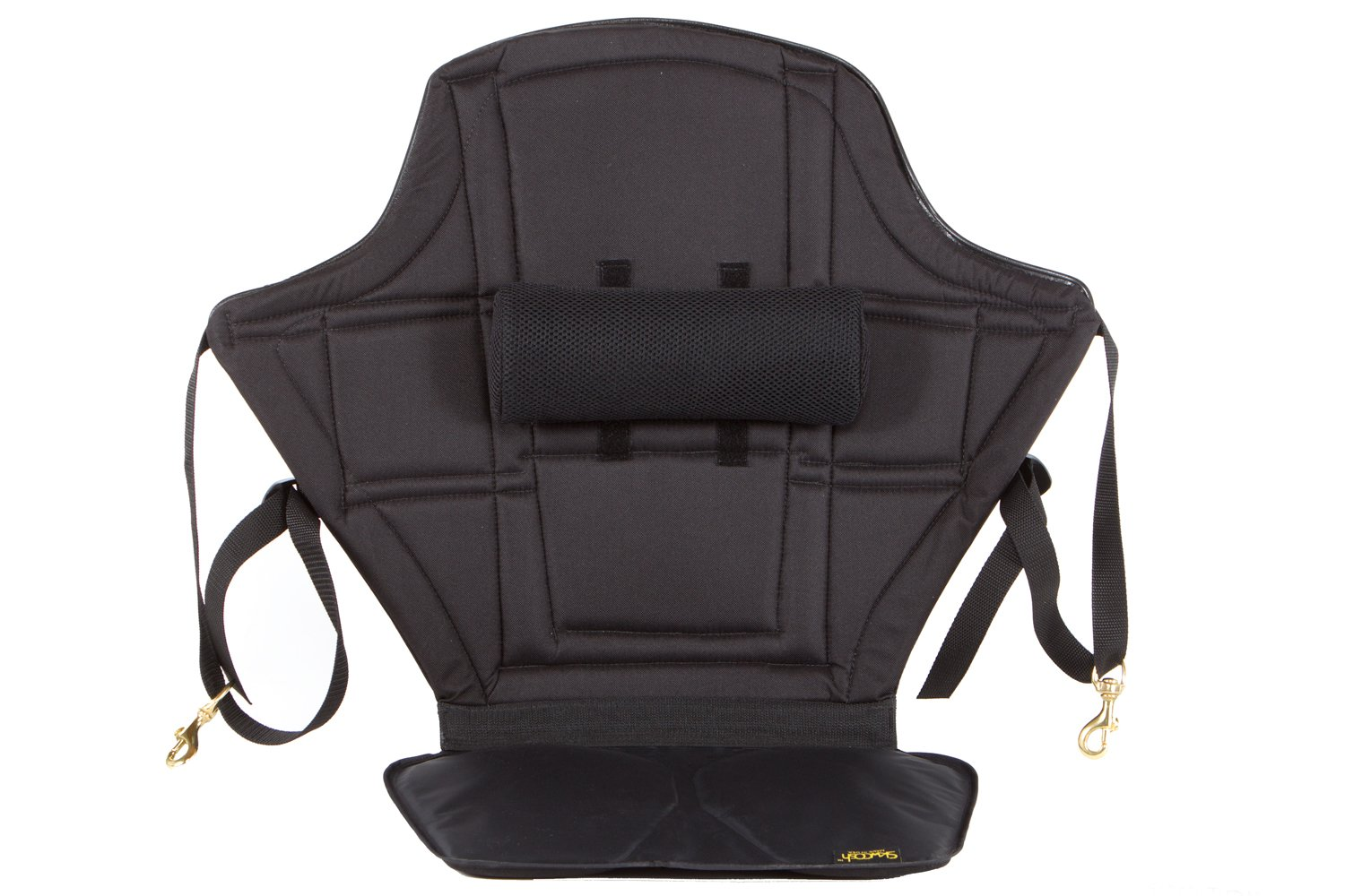 Skwoosh High Back Kayak Seat with adjustable lumbar support and waterproof nylon seat | Made in USA by Skwoosh (Image #1)