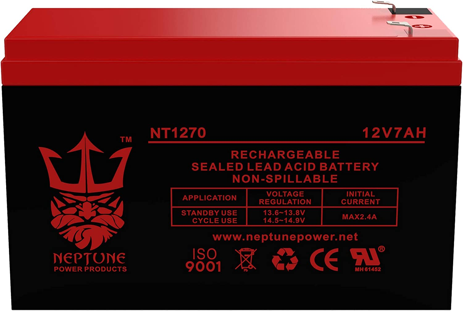 Rechargeable, high Rate BP500U APC Back-UPS Pro 500VA Replacement Battery