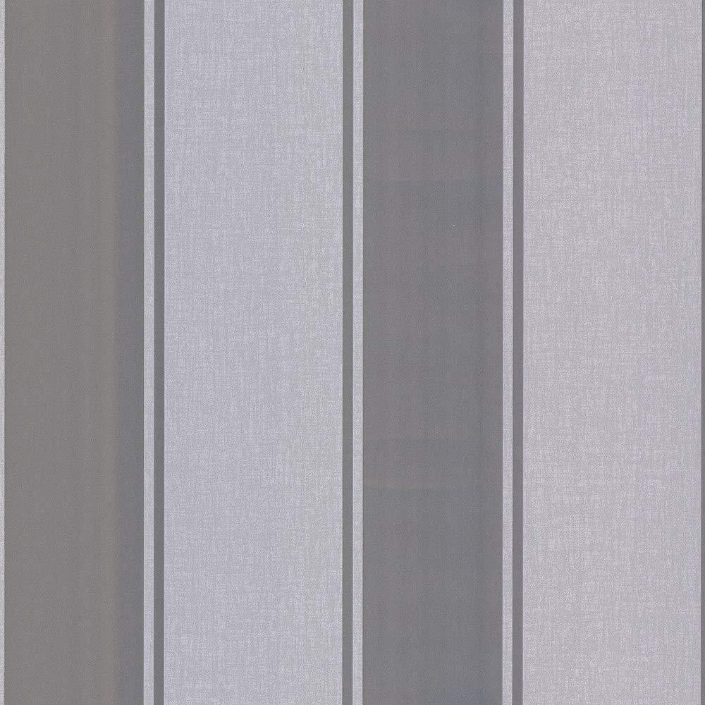 Papel pintado Arthouse 906607 906607 dise/ño de rayas color plateado