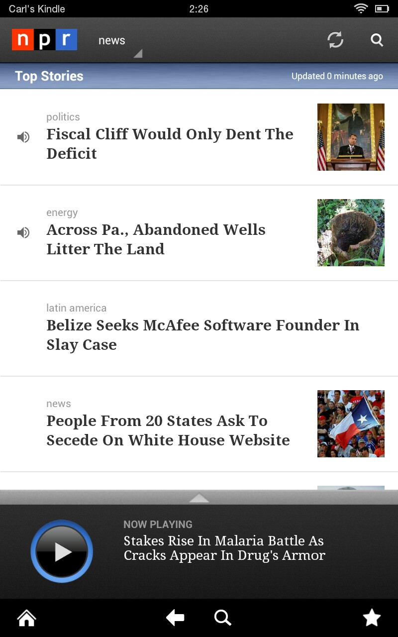 Amazon.com: NPR News: Appstore for Android