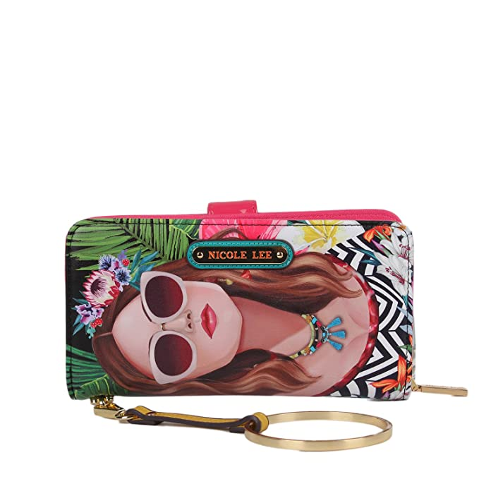 844453a85 Nicole Lee Cartera VACATION GIRL estampada: Amazon.com.mx: Ropa ...