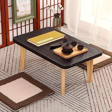 Mesas auxiliares pequeñas Mirador sencilla tabla de madera sólida ...