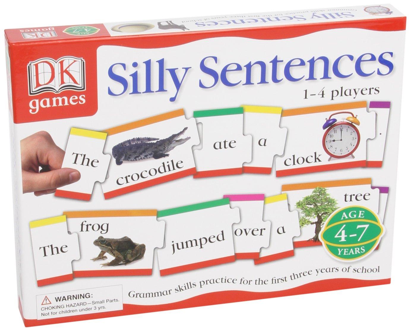 DK Games Silly Sentences